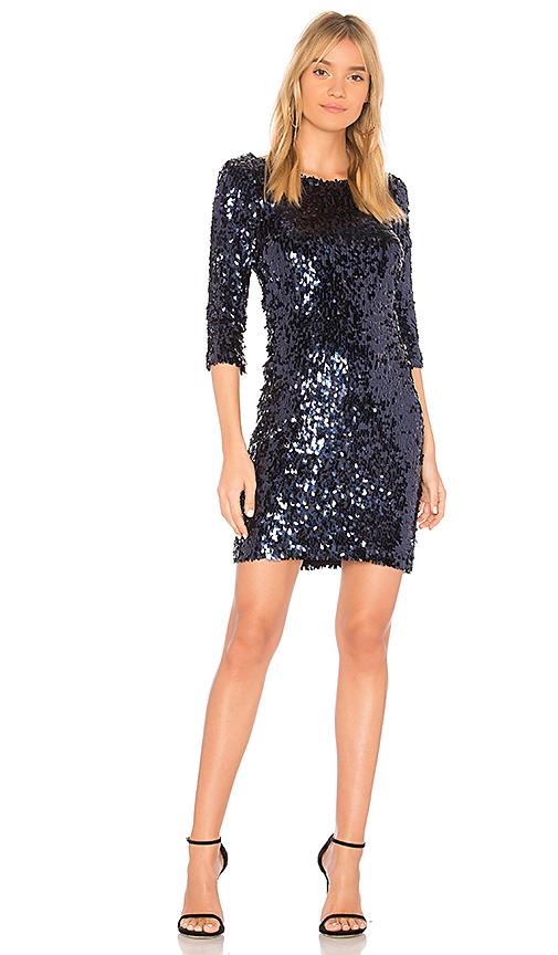 BB Dakota Leila Dress in Blue. - size XS (also in L,M,S)