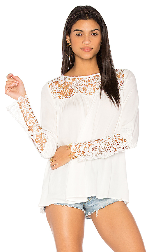 BB Dakota Geraldine Top in White
