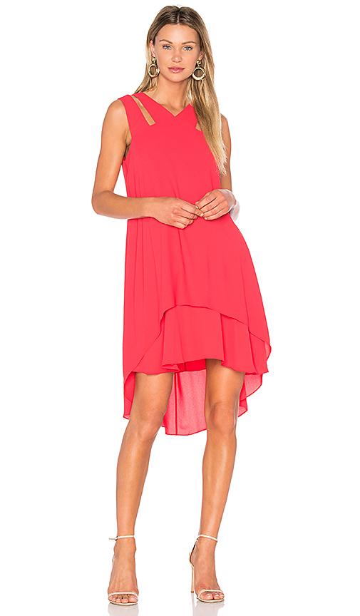 BCBGMAXAZRIA Kristi Dress in Red