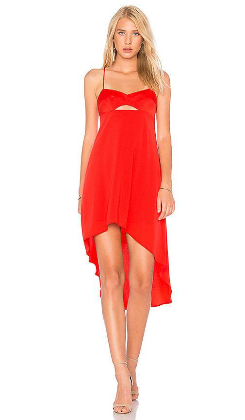 BCBGMAXAZRIA Sabryna Dress in Red