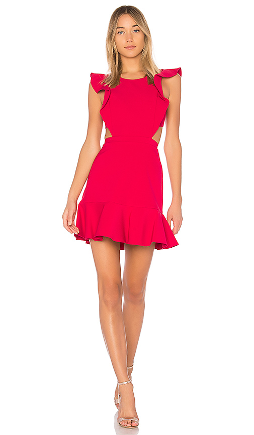 BCBGMAXAZRIA Nicole Dress in Red