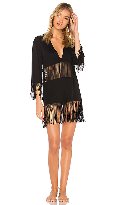 Beach Bunny Indian Summer Tunic in Black. - size XS/S (also in M/L)