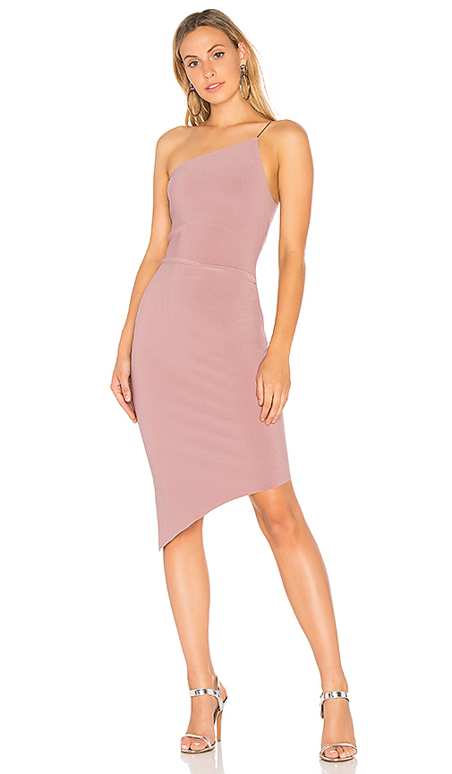 BEC & BRIDGE Luxul Asymmetrical Dress in Lavender