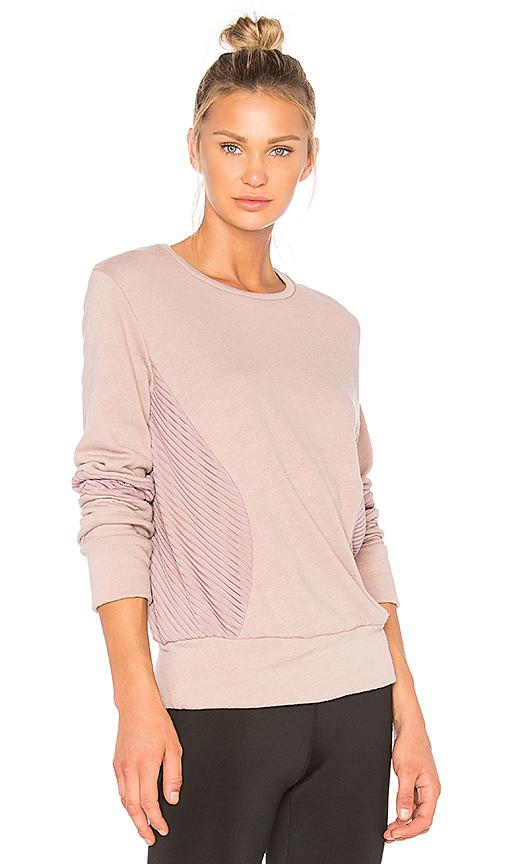 BELOFORTE Santorini Sweatshirt in Rose