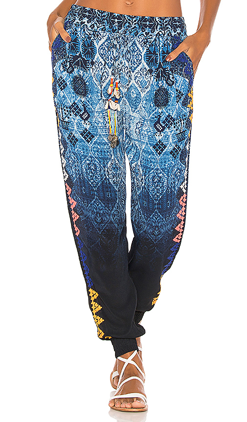 HEMANT AND NANDITA Ancestral Jogger in Blue