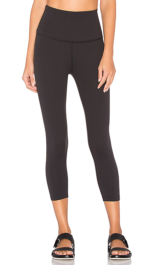 Beyond Yoga High Waist Capri Legging in Black. - size M (also in L,S,XS)