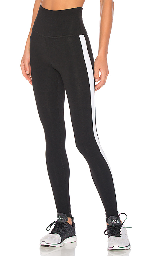 Beyond Yoga x kate spade Madison Tuxedo Legging in Black. - size L (also in M,S,XS)