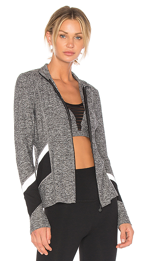 Beyond Yoga Refraction Jacket in Gray. - size L (also in M,S,XS)