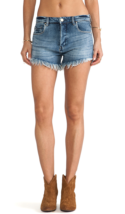BLANKNYC High Waist Short in Jizzneyland