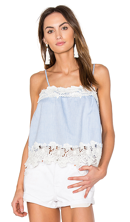 BLANKNYC Lace Cami in Blue