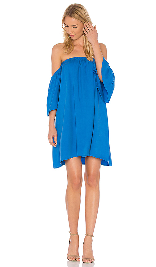BLAQUE LABEL Baby Doll Dress in Blue