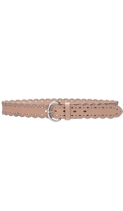 B-Low the Belt Daisy Studded Belt in Beige. - size L (also in M,S)