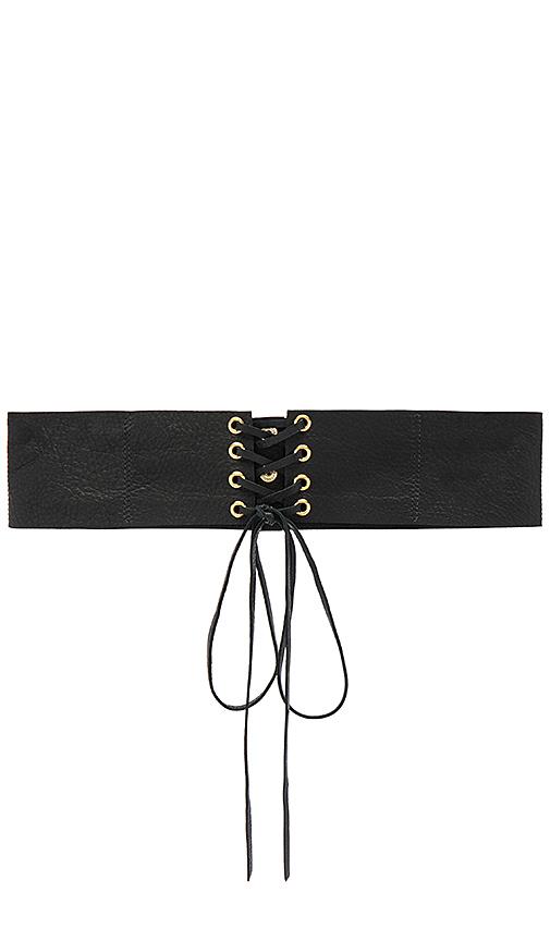 B-Low the Belt Eve Corset Belt in Black