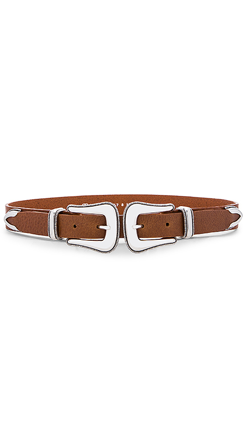 B-Low the Belt Gaucho Waist Belt in Cognac