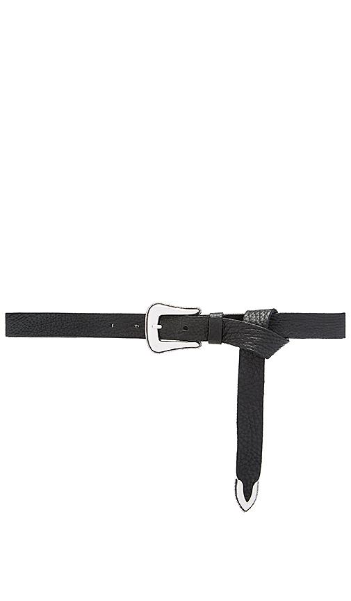 B-Low the Belt Taos Mini Waist Belt in Black. - size S (also in L,M)
