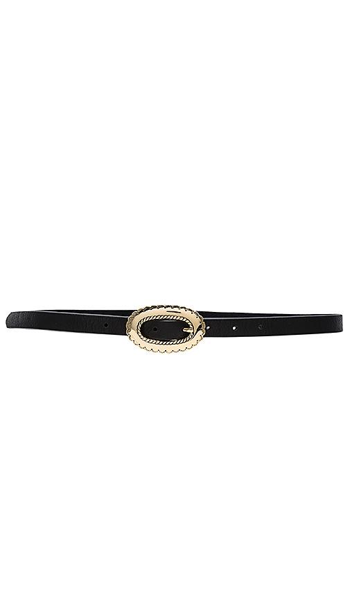 B-Low the Belt Napa Belt in Black. - size S (also in M)