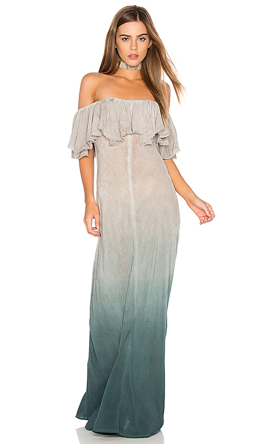 Blue Life Aphrodite Maxi Dress in Gray
