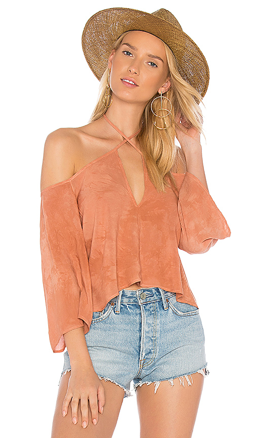 Blue Life Sophia Top in Pink