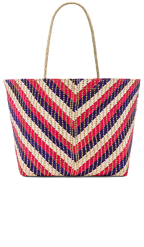 Banago Malaya Tote in Red