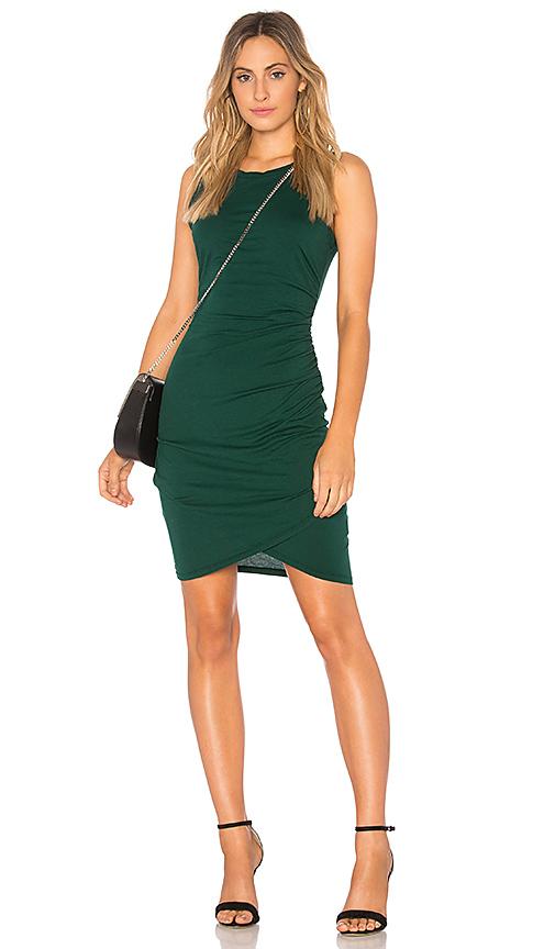Bobi Supreme Jersey Tank Dress in Green