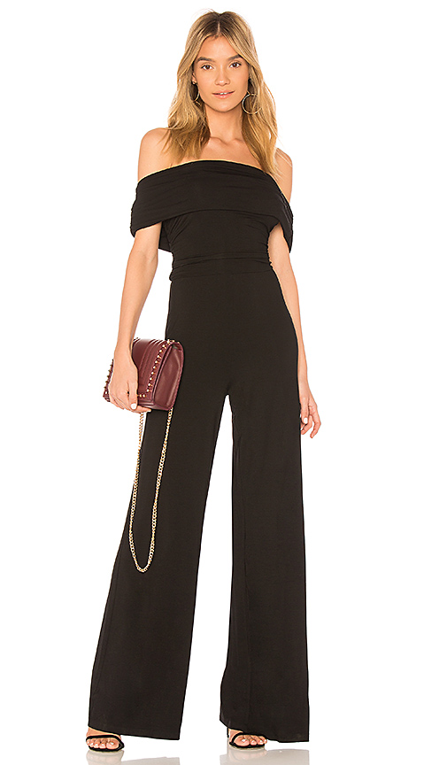 Bobi BLACK Luxe Jersey Jumpsuit in Black. - size XS (also in M)