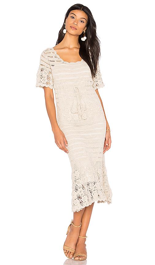Photo of boemo Castello Dress in Beige - shop boemo dresses sales