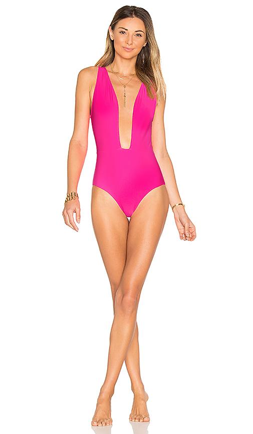 BEACH RIOT x REVOLVE Lex One Piece in Pink