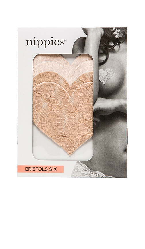 Bristols6 Nippies Hearts Patch of Freedom in Beige