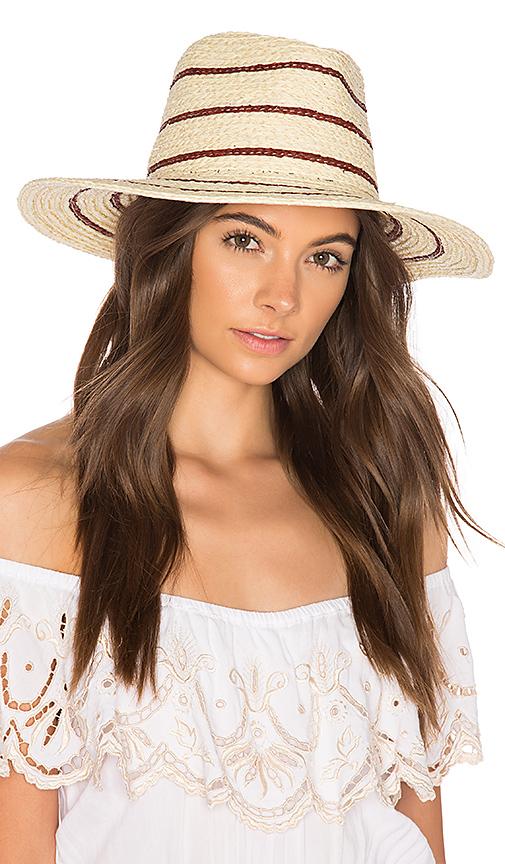 Brixton Amelia Hat in Cream