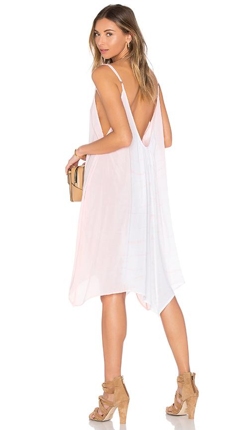 Bettinis Scallop Maxi Dress in Peach.