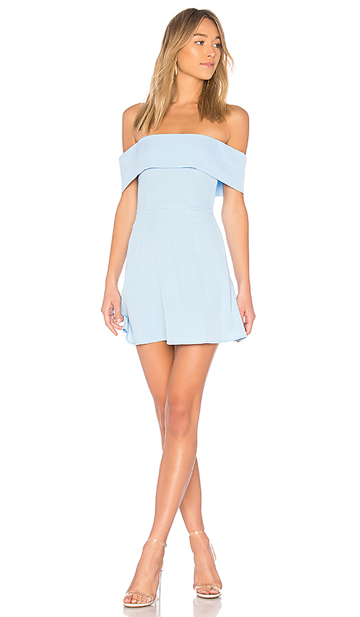 AUBREY OFF SHOULDER DRESS