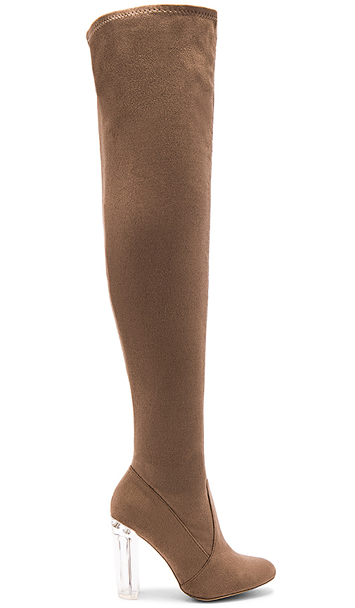 by the way Liv Boot in Taupe