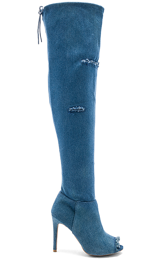 by the way Nikki Boot in Blue