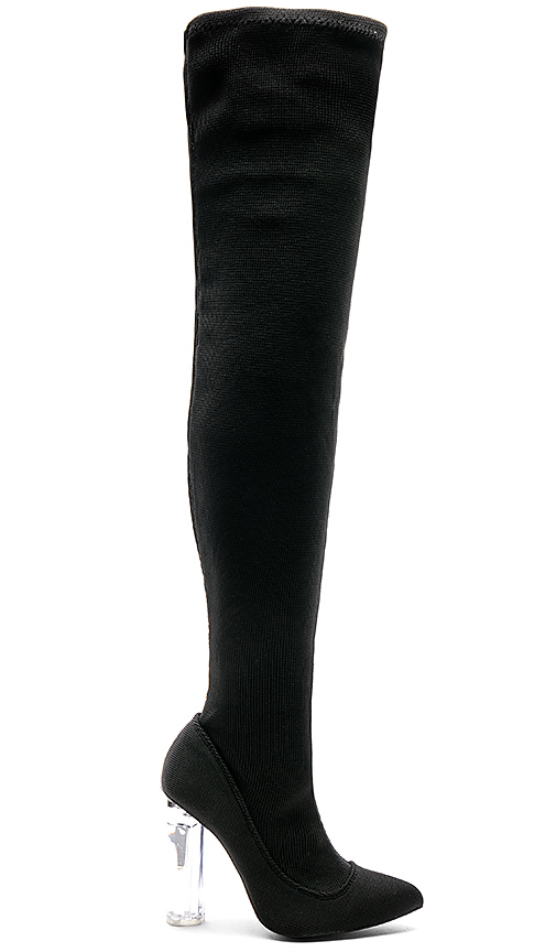 by the way Alyssa Boot in Black