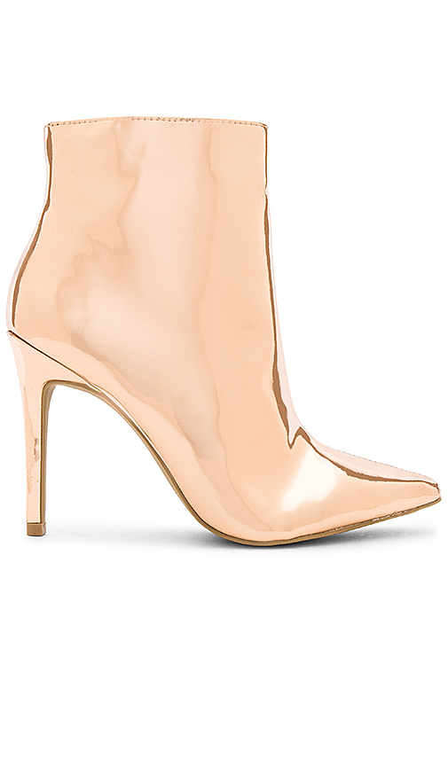 by the way Ashley Bootie in Metallic Copper