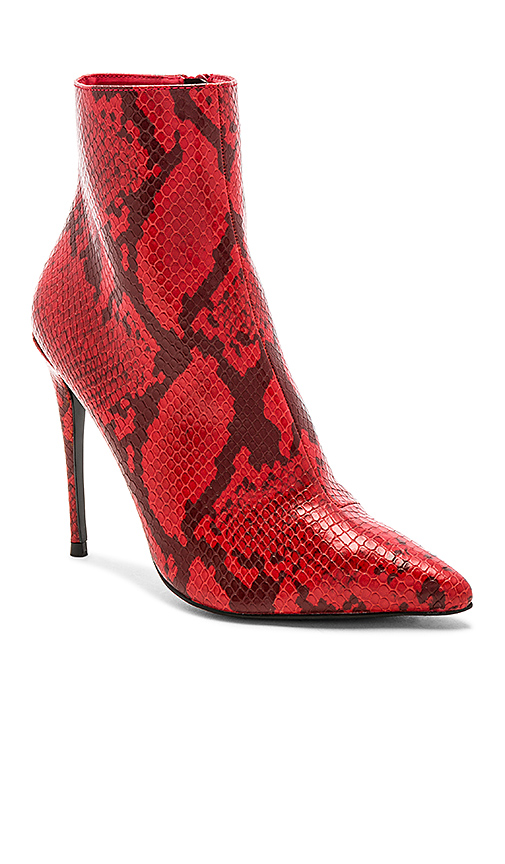 superdown Amber Bootie in Red