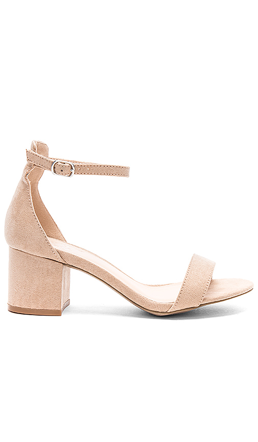 by the way. Angie Sandals in Tan