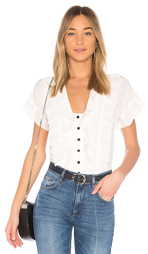 Calvin Rucker Love Plus 1 Top in White