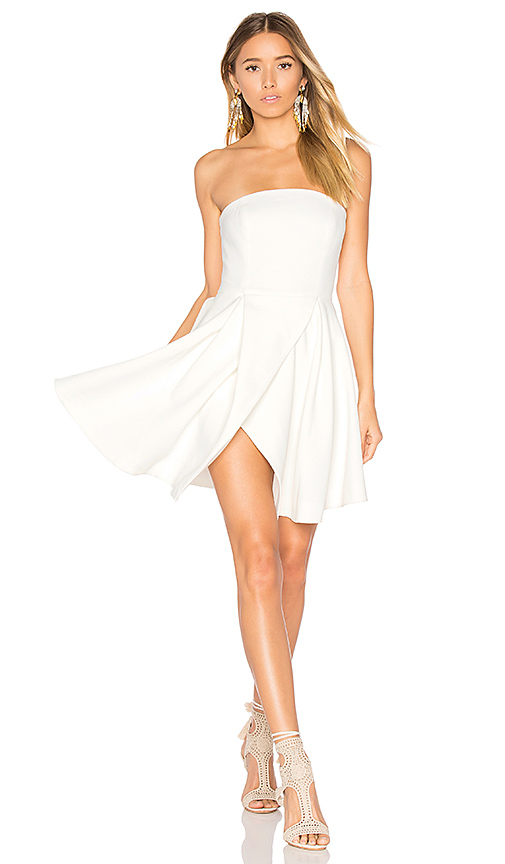 C/MEO Flawless Dress in White