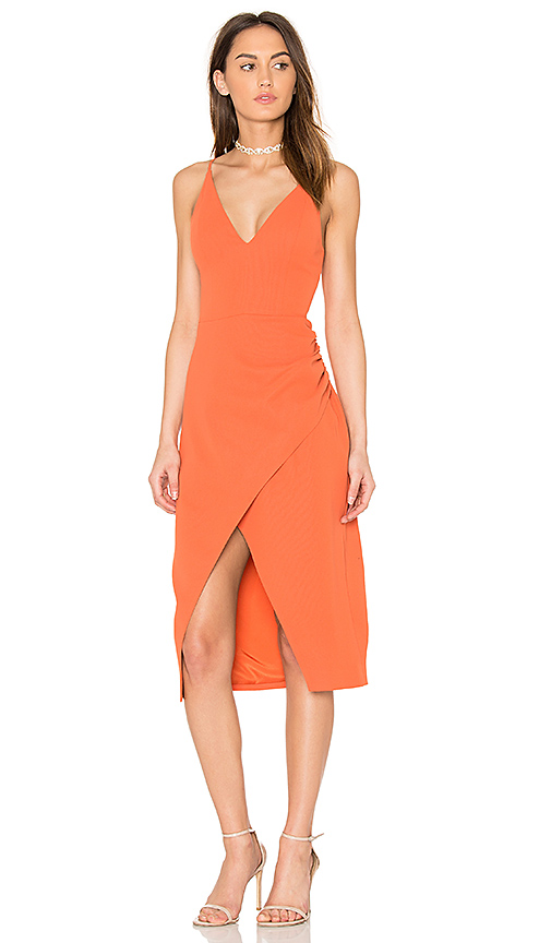 C/MEO Hold On Dress in Red