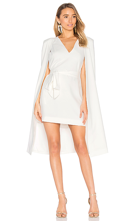 C/MEO Limitless Dress in White