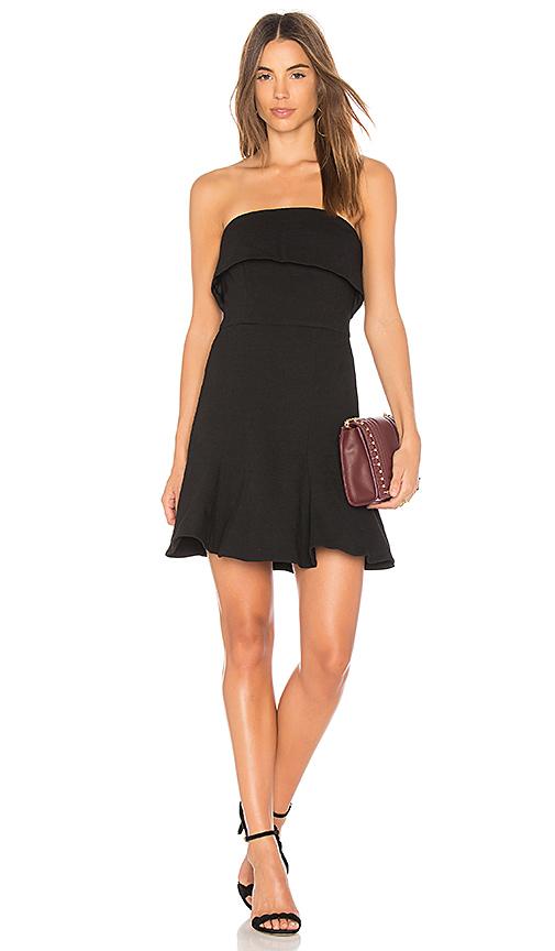 C/MEO Fluidity Mini Dress in Black