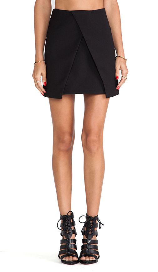Cameo New Day Skirt in Black