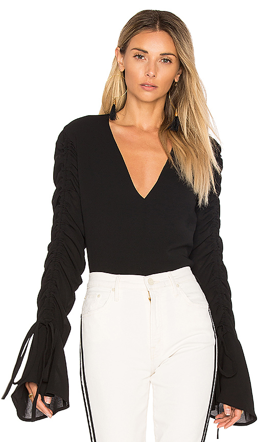 C/MEO Right Kind Of Madness Top in Black