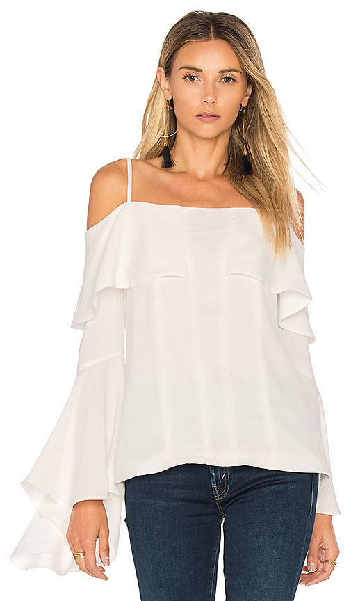 C/MEO Compose Top in White