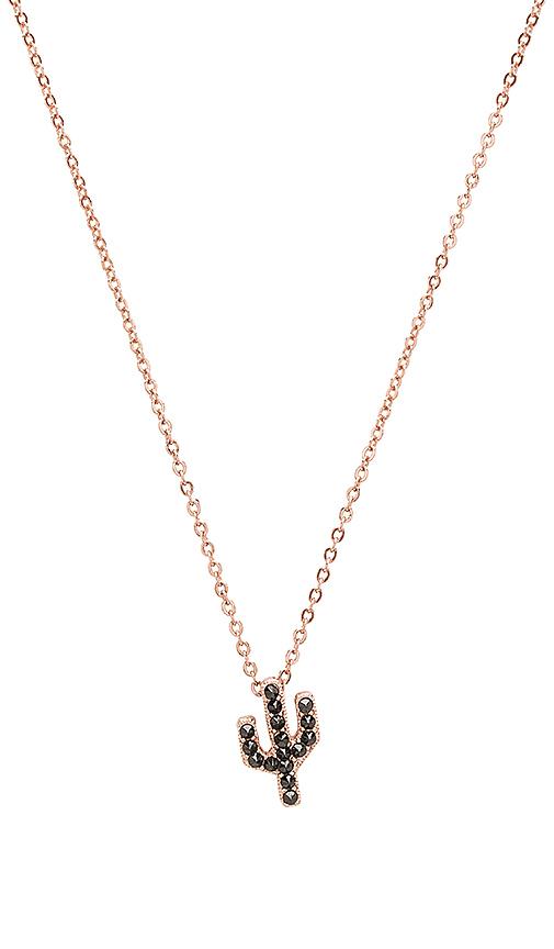 CAM Studded Saguaro Necklace in Metallic Copper