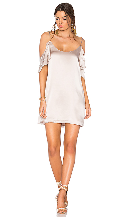 CAMI NYC The Samantha Dress in Gray