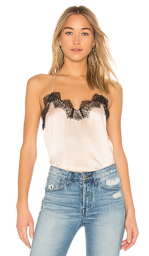 CAMI NYC The Racer Charm Cami in Pink