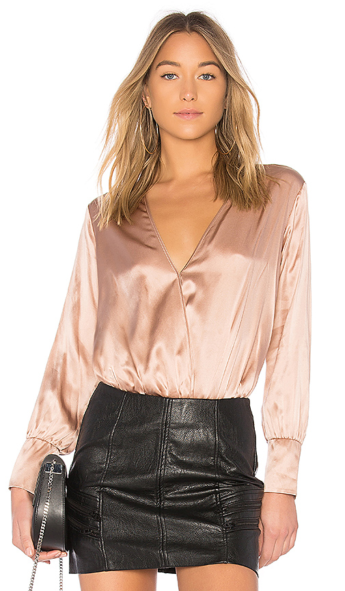 CAMI NYC The Allison Bodysuit in Blush