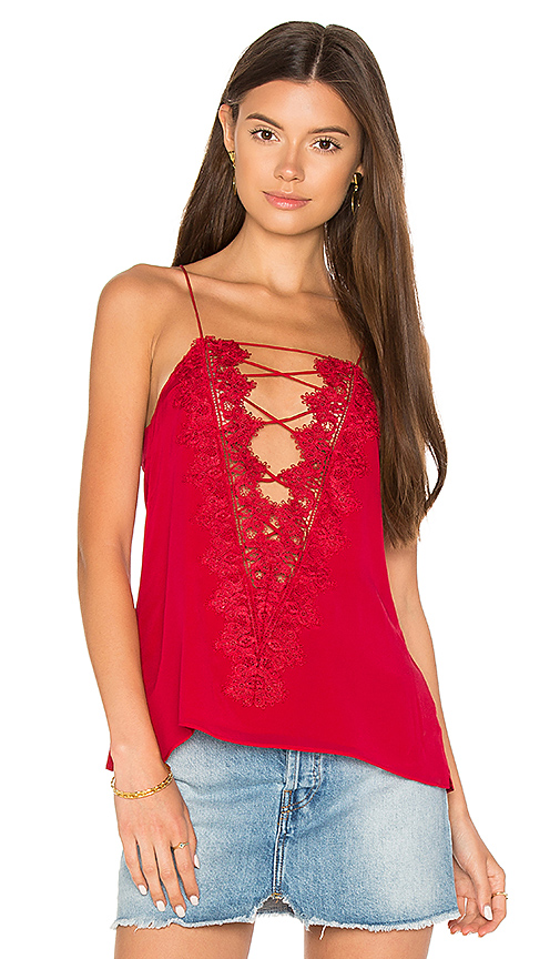 CAMI NYC The Charlie Cami in Red